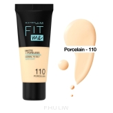 Maybelline Fit Me! Matte and Poreless Foundation - 110 Porcelain