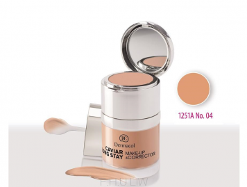 DERMACOL CAVIAR LONG STAY MAKE-UP & CORRECTOR - TAN