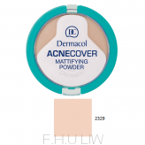DERMACOL ACNECOVER MATTIFYING POWDER - PORCELAIN 01